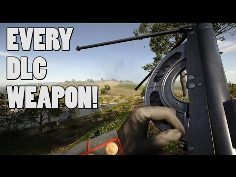 Every DLC weapon in action! - Battlefield 1's they shall not pass gameplay