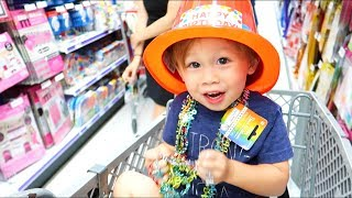 SHOPPING FOR JACKSON'S 2ND BIRTHDAY PARTY!