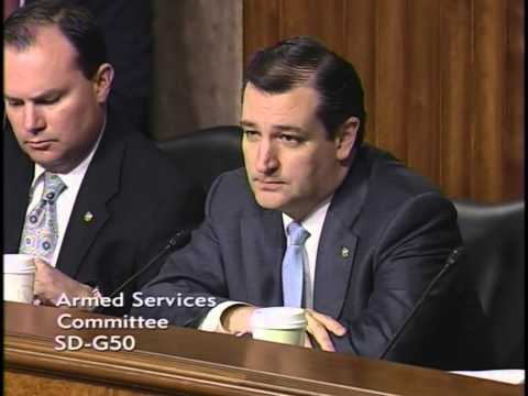 Sen. Ted Cruz Questioning Chuck Hagel in Confirmation Hearing