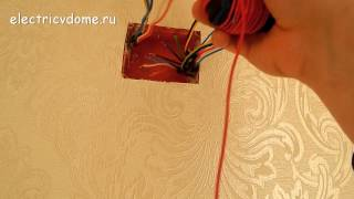Прозвонка кабеля своими руками. Как выполняется прозвонка проводов с помощью лампочки и батарейки(Если в распределительную коробку заходит пучок проводов, то разобраться в том, где какой провод порой не..., 2014-12-05T20:13:58.000Z)