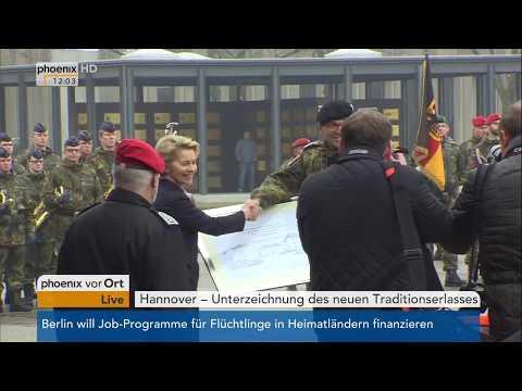 Ursula von der Leyen zum neuen Traditionserlass der Bundeswehr am 28.03.18