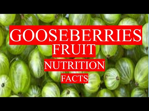 GOOSEBERRIES FRUIT NUTRITION FACTS AND HEALTH BENEFITS