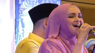 Sitizone Duet Bersama Siti Nurhaliza - MIKRAJ CINTA Jadi Backup Vocal