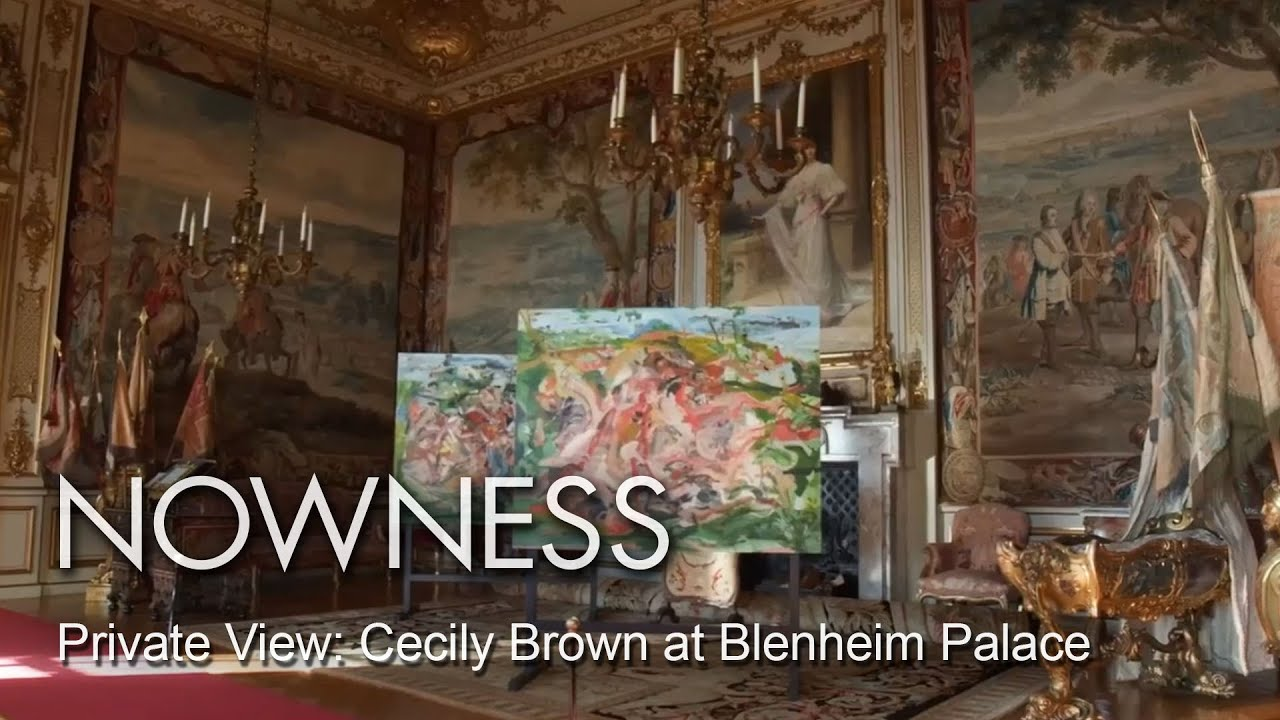 British painter Cecily Brown at Blenheim Palace - YouTube