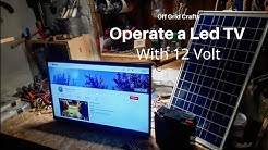 Off Grid TV 12v (from 100-220v)