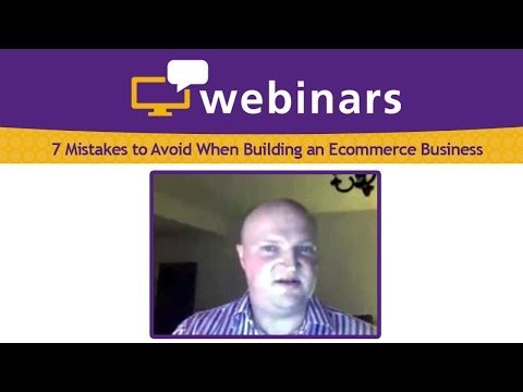 7 Mistakes to Avoid When Building an Ecommerce Business