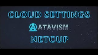 Atavism Online - Cloud Settings - Netcup