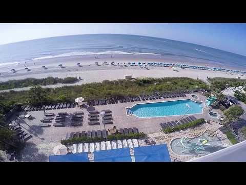 Myrtle Beach Oceans One Rentals View From Balcony