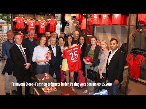 FC Bayern Store - Fanshop eröffnete in den Pasing Arcaden am 09.05.2018