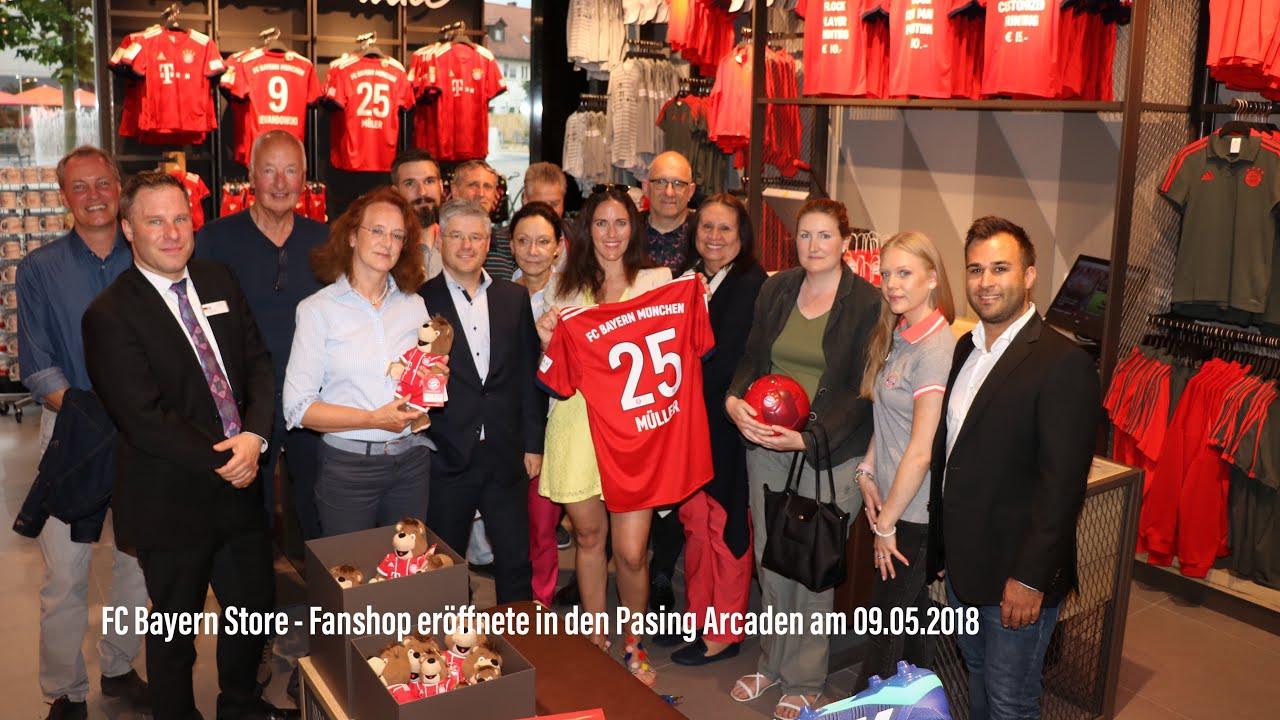 Fc Bayern Store Fanshop Eröffnete In Den Pasing Arcaden Am 0905