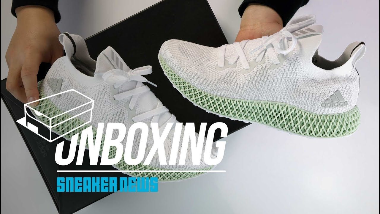 Villano Adjuntar a petróleo  adidas AlphaEdge 4D Futurecraft Unboxing + Review [Cheapest 4D Sneaker] -  YouTube