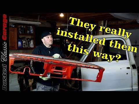 How To Remove A Dash Panel On A 1971 Chevy C10 Truck - Dashboard Repair