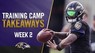 Takeaways From Week 2 of Training Camp as Lamar Jackson Debuts