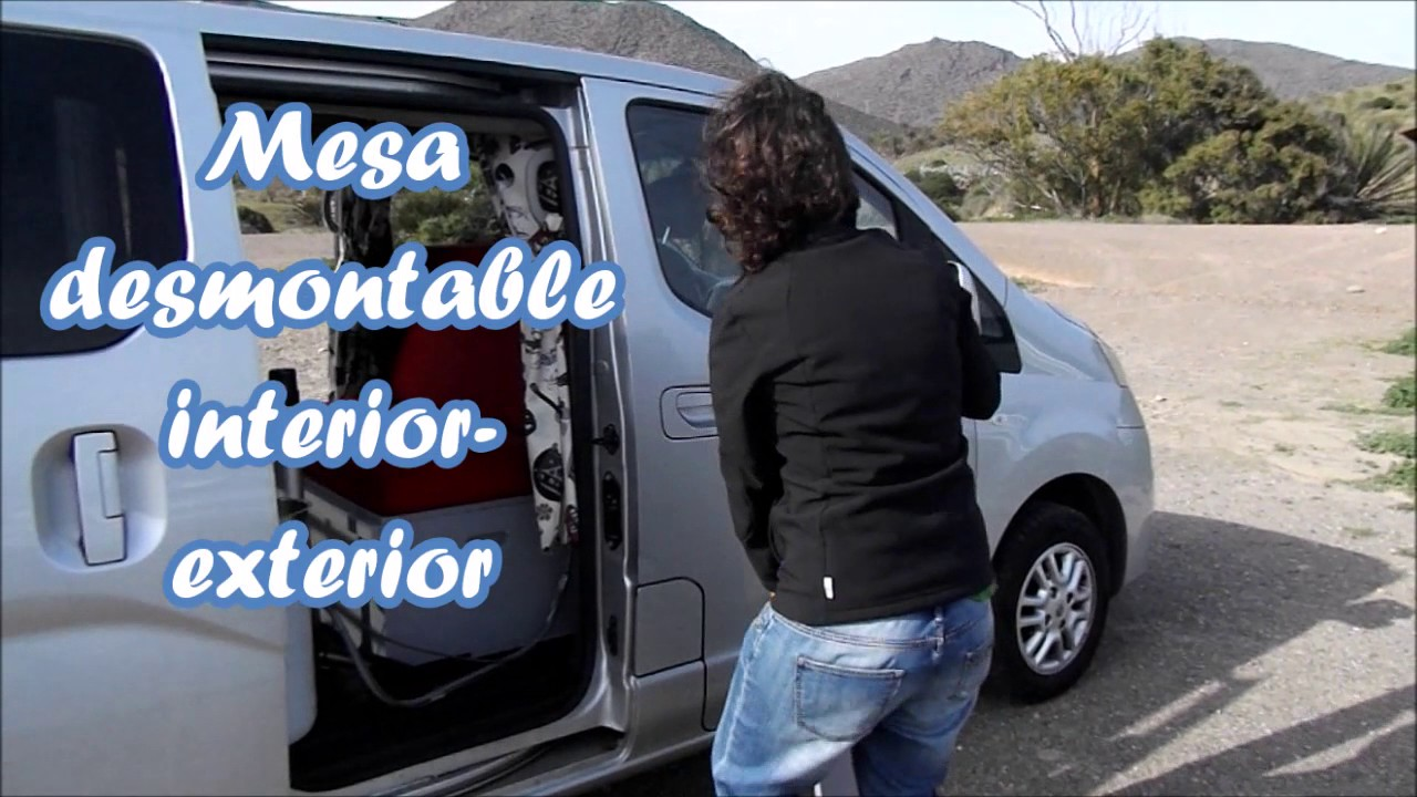 nissan nv200 evalia camper youtube. Black Bedroom Furniture Sets. Home Design Ideas