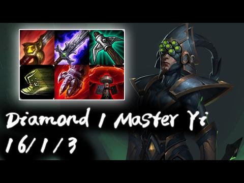 Diamond 1 Master Yi Jungle vs Lee Sin | Korea High Elo