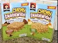 Quaker Chewy Snackwich: Peanut Butter & Chocolate Chip and Apples & Caramel Review