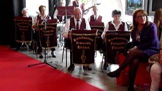 Roter Mohn -- Bandonion-Freunde-Essen -- Ladies Day