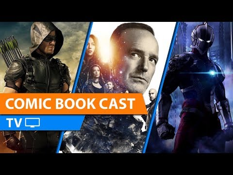 Arrow And Agents Of Shield Ending + Ultraman Trailer & More | CBCTV