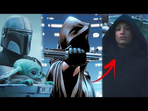 Impactante Revelación del Mandalorian! No Vas a Creer Quién es la Mujer Misteriosa del Trailer!
