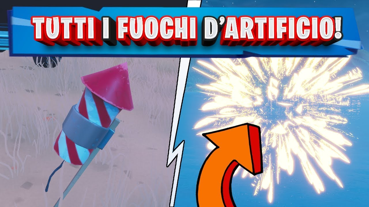 Download SPARA I FUOCHI D'ARTIFICIO!   SFIDE SETTIMANA 4 STAGIONE 7 FORTNITE