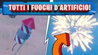 SPARA I FUOCHI D'ARTIFICIO! | SFIDE SETTIMANA 4 STAGIONE 7 FORTNITE