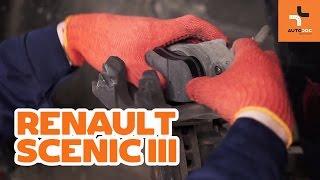 Kā nomainīt RENAULT SCENIC 3 priekšējie bremžu kluči PAMĀCĪBA | AUTODOC