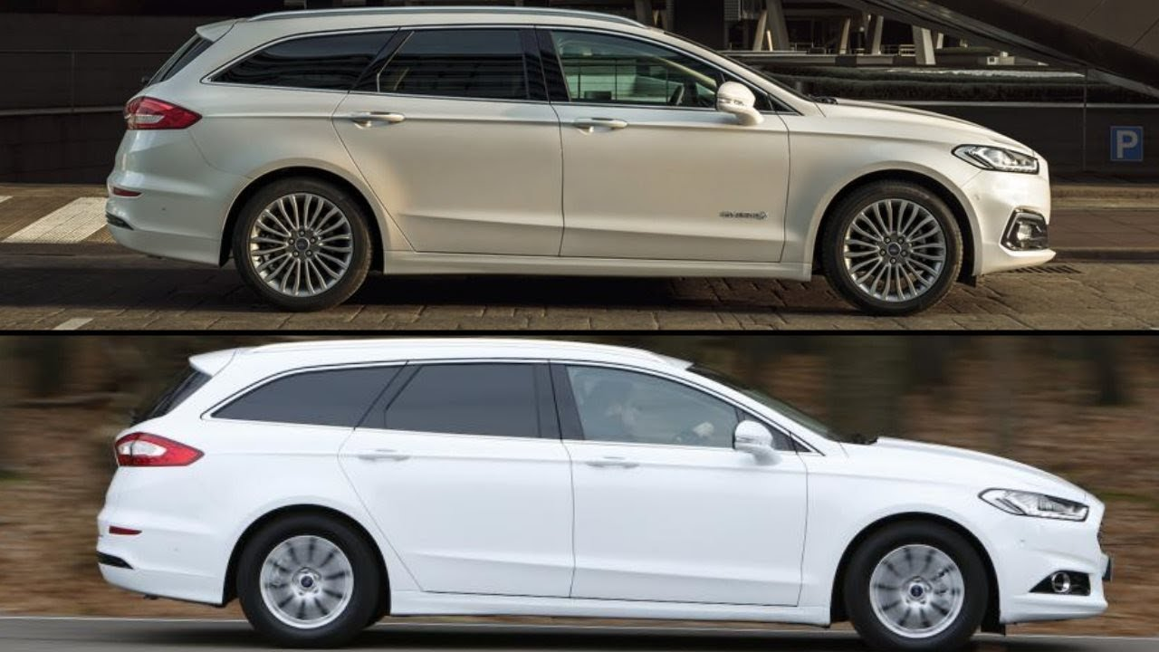new 2020 ford mondeo estate facelift vs  old ford mondeo estate