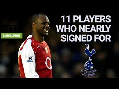 11 Players Who Nearly Signed For Tottenham