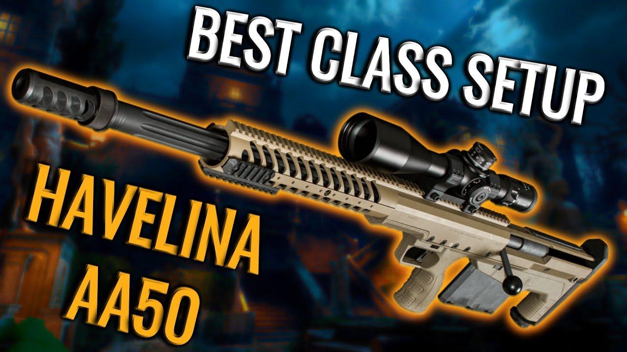 BO4 - New HAVELINA AA50 INSANE BEST CLASS SETUP TUTORIAL + GAMEPLAY