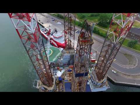 Bohrinsel Paragon Den Helder - Offshore Platform 08 2016
