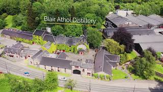 The Dram Drone Visits Blair Athol Distillery