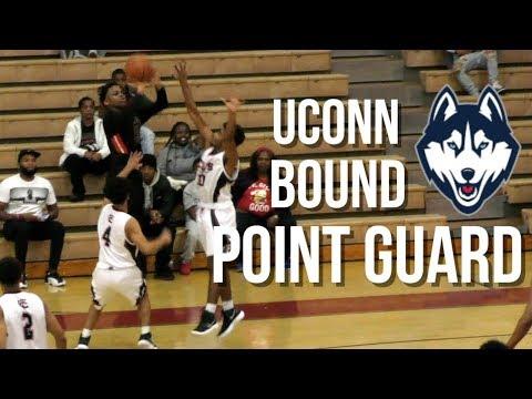 UCONN Bound James Akinjo, In Depth Highlights VS James Logan HS