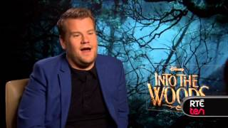 James Corden talks Into The Woods, Meryl Streep & more
