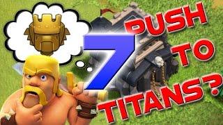 Clash of Clans: TH9 Trophy Push to Titans Episode 7 - Champion League
