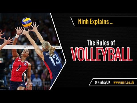 The Rules Of Volleyball - EXPLAINED!