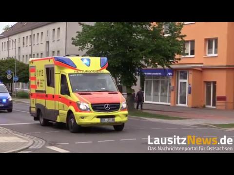 Weißwasser Zeugen nach Unfall mit schwer verletzter Person
