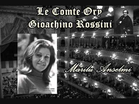 """Marilu Anselmi-""""Quand Madame La Comtesse""""(Le Comte Ory, 1983)"""