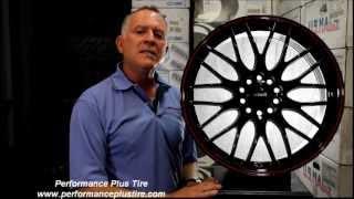 Maxxim Maze Black Rim -- Performance Plus Wheel & Tire Review