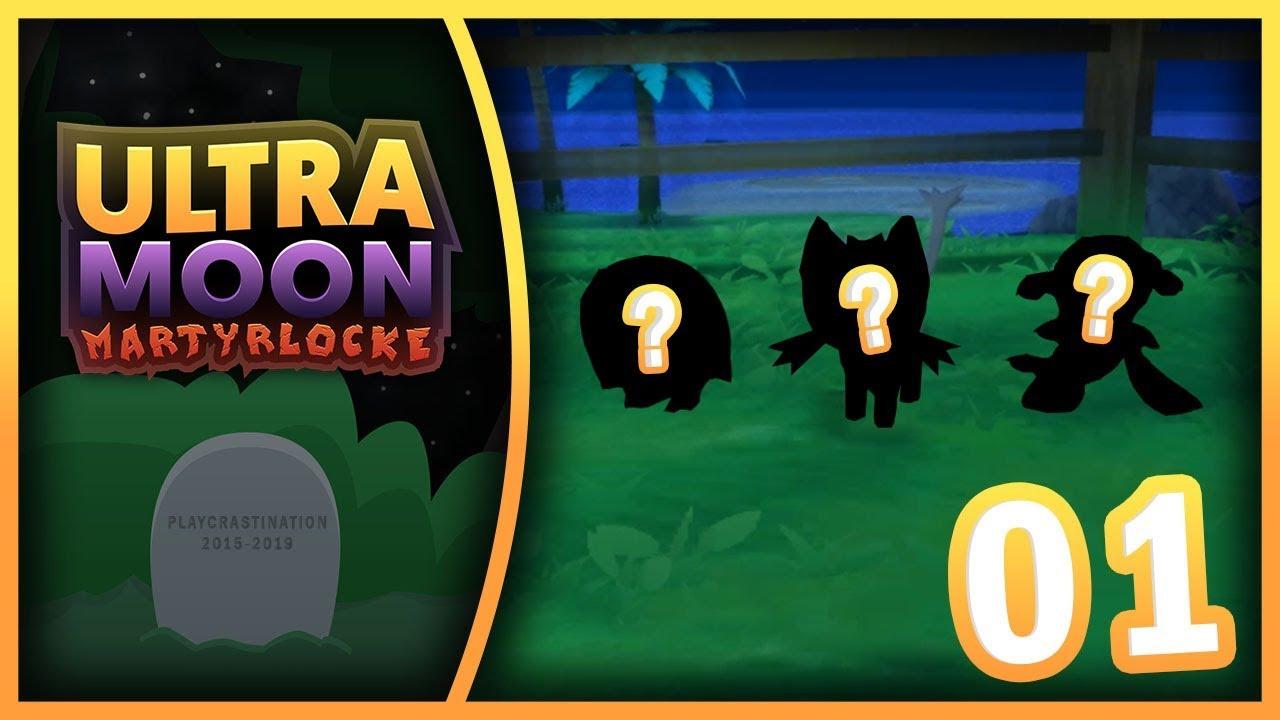 CHOOSE MY STARTER! | Pokemon Ultra Moon Martyrlocke | Episode 1
