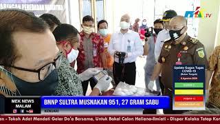 BNNP Sultra Musnakan 951, 27 Gram Sabu