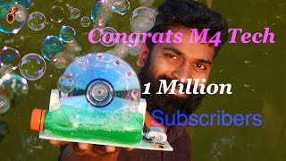Hearty Congratulations M4 Tech for 1 Million Subscribers || Veena's Curryworld || Ep:491