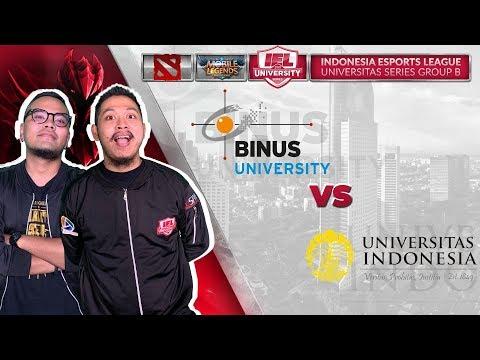 Download UNIVERSITAS INDONESIA VS BINUS UNIVERSITY W/ Coki & Tretan MLI  @IEL 2019: University Series