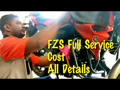 My Yamaha FZS Fi V2 full service|| Cost|| Problems|| Fi Cleaning || SNC Yamaha