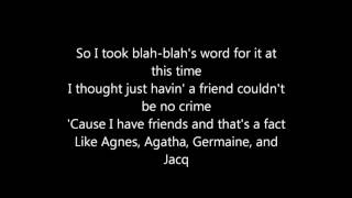 Biz Markie – Just A Friend |LYRICS|