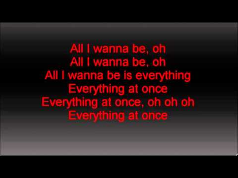 Lenka-Everything at Once (lyrics) yt