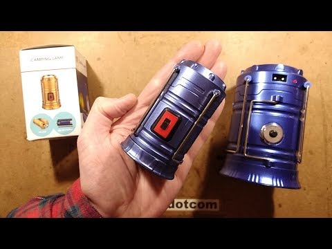 Mini death-dalek camping light is actually safe!