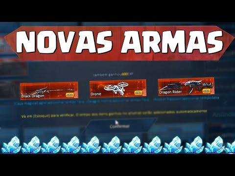 ROLETANDO O NOVO ARSENAL AZUL E PEGANDO 3 NOVAS ARMAS - BLOOD STRIKE- ‹ 2Kill ›