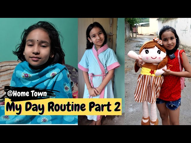 My Day Routine Part 2 at Home Town / VLOG /  #LearnWithPari #Aadyansh