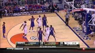 #19 Florida vs #13 Kansas (12/10/13)