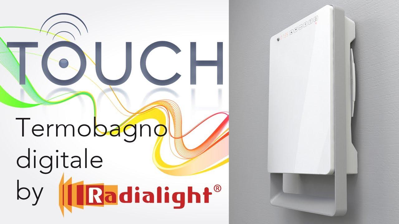 Pompa Di Calore Per Bagno riscaldare velocemente il bagno con il termoventilatore digitale touch by  radialight